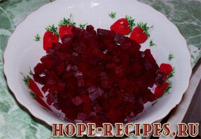 Винегрет овощной рецепт