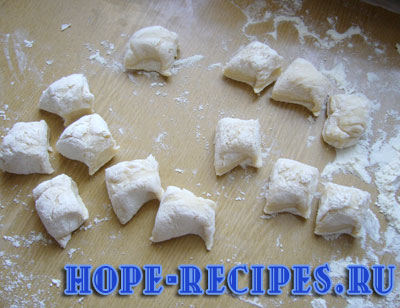 Тесто на вареники
