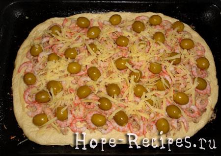 Пицца до запекания