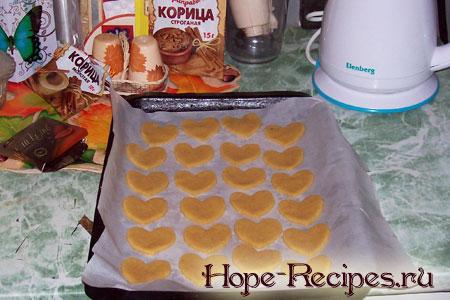 Печенье до запекания