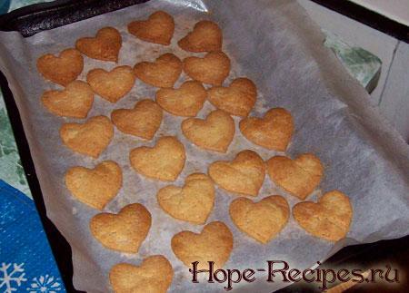 Печенье после запекания