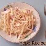 Сай (редька с маслом и луком)