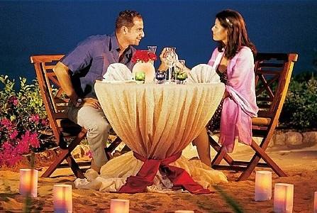 Романтический ужин как средство примирения