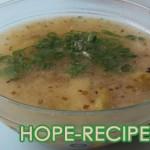 Суп из капусты с курицей