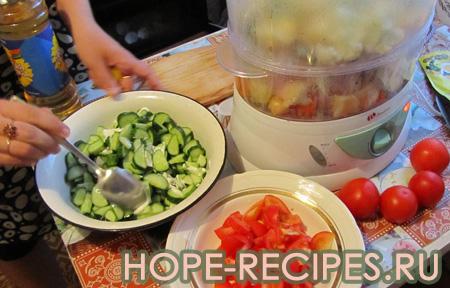 Делаем салатики