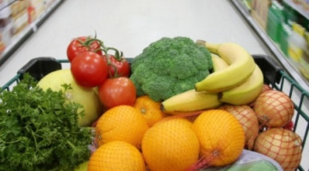 За продуктами в супермаркет