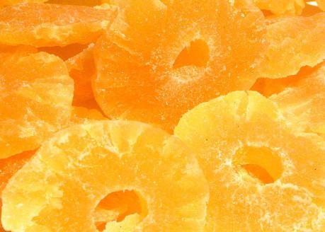 Ананас сушеный - цукат кольцами