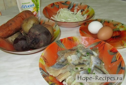 Готовим новогодний салат