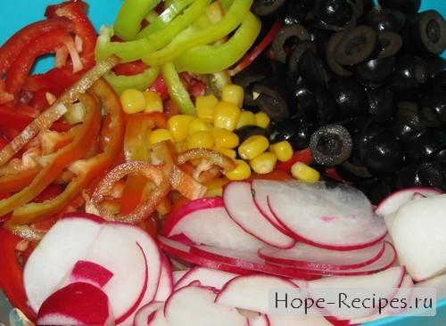Блюдо для новогоднего стола 2012