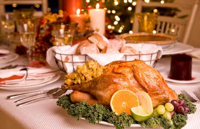 Меню для новогоднего стола 2012