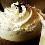 Очень вкусный кофе со сливками