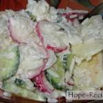 Вкусный рецепт простого в приготовлении салата