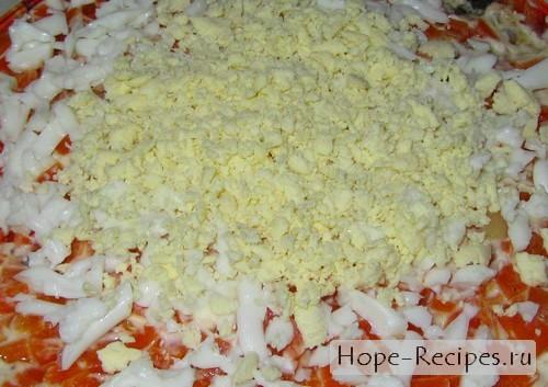 Готовим вкусный и простой салат Мимоза