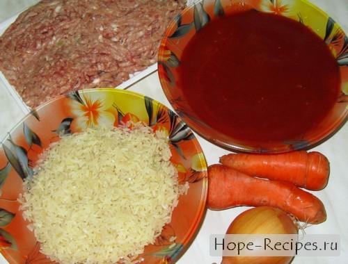 Будем готовит тефтели в томатном соусе
