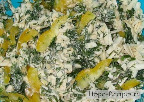 Готовим простой и вкусный салат