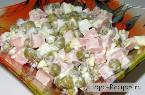 Салат а-ля оливье