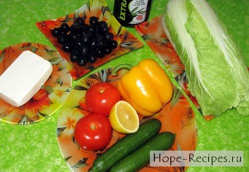 Традиционный рецепт греческого салата