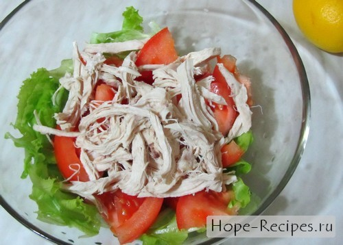 Начинаем готовить салат Цезарь по рецепту