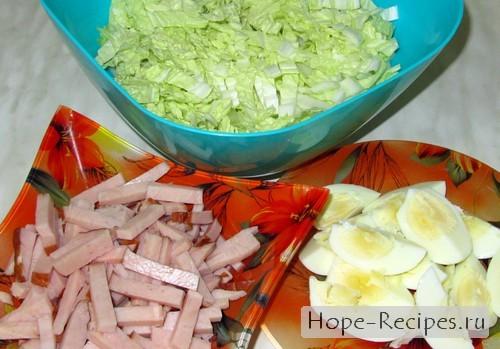 Сытный салатик на обед