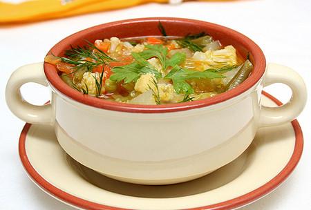 Полезный обед начинается с супа