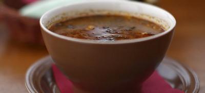 Грузинский пряный суп