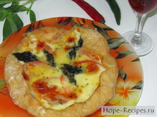 Пицца Маргарита как в Неаполе