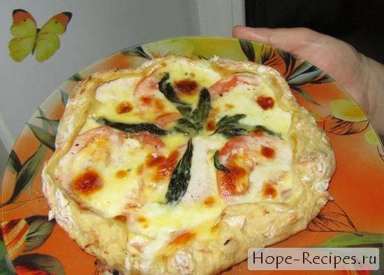 Итальянская пицца в моем исполнении