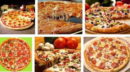 разнообразная пицца