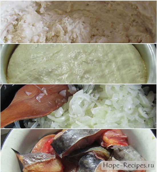 Пошаговый рецепт пирожкового домашнего теста