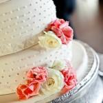 Красивый торт для свадебного торжества