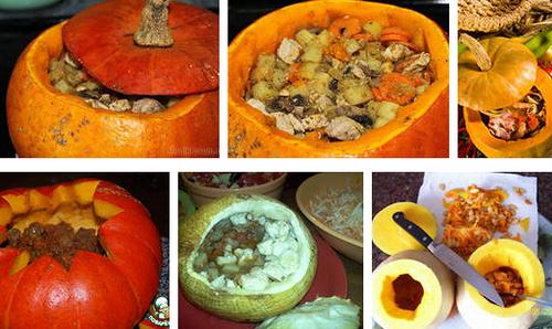 Праздничные блюда из тыквы рецепты с фото