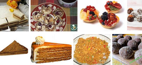 Готовим домашние пирожные