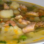 Рецепт вкусного супа из форели