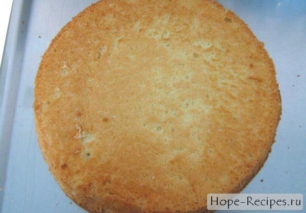 Вкусный домашний бисквит