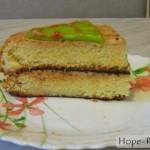 Бисквитный домашний торт к мужскому празднику