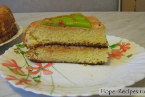 Морковный пирог с грецкими орехами  Рецепт