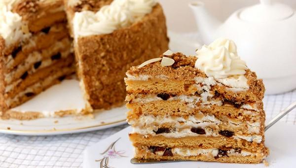 Как испечь медовый торт (рецепт с фото)