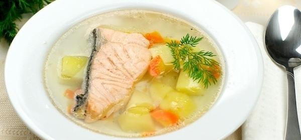 Нежный вкус рыбного супа из головы форели