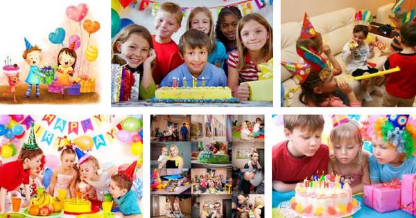 Конкурсы на детского дня рождения дома