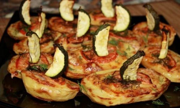 Вкусные кораблики из картофеля