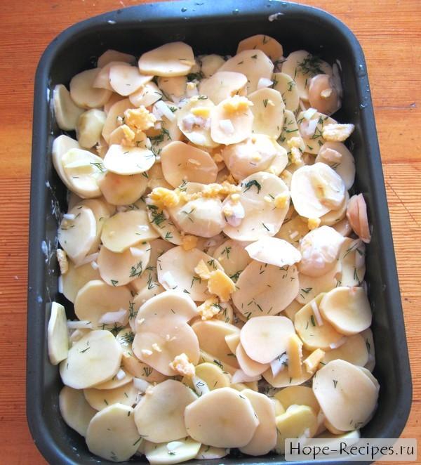 Готовим запеканку из картофеля с фаршем