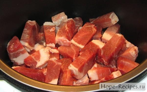 Подливка из свинины рецепт в мультиварке поларис
