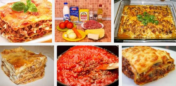 Приготовление лазаньи с помидорами