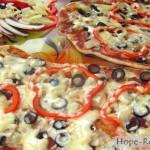 Гавайская пицца рецепт с фото