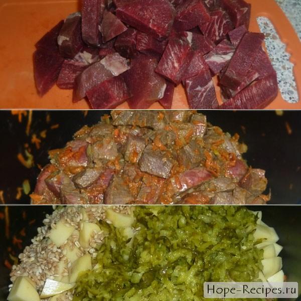 Как приготовить рассольник с говядиной