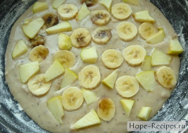 Пирог из бананов