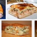 Пирог с семгой (закрытый)