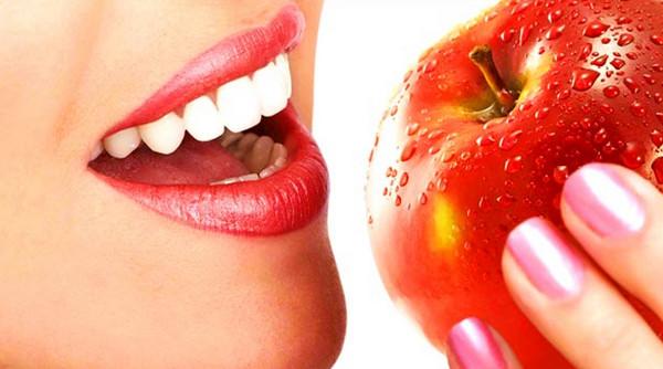 Еда для здоровья зубов