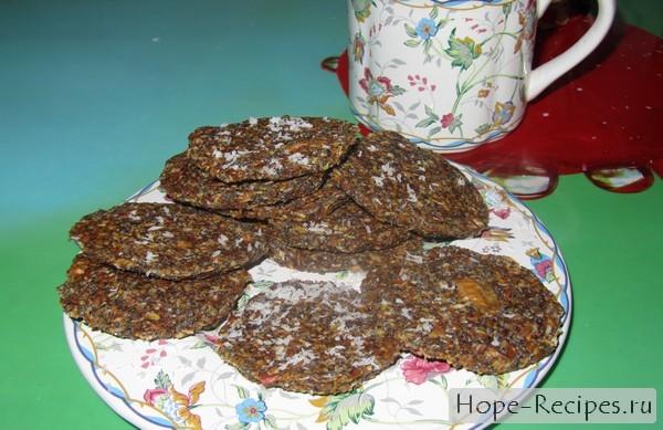 Дииетическое печенье с маком