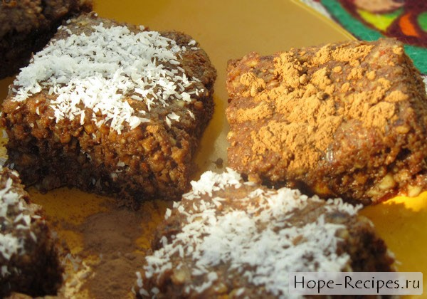 Брауни из орехов